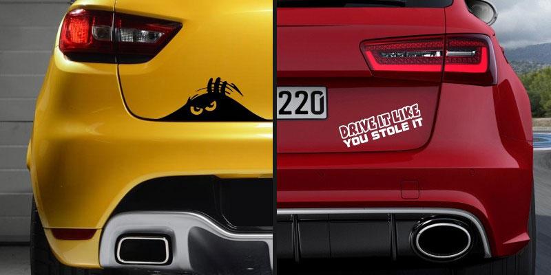 Avtomobilske nalepke