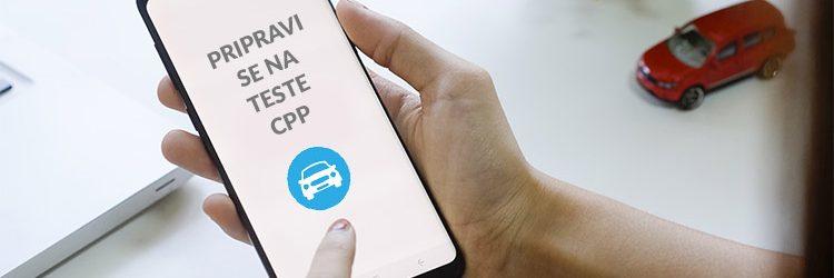 Aplikacija za pripravo na teste CPP